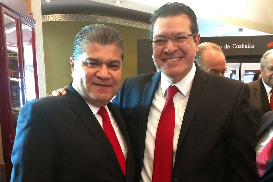 ASISTE MARCO MENA A TOMA DE PROTESTA  DEL GOBERNADOR DE COAHUILA