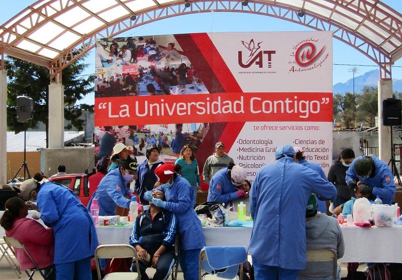 """CIERRA UAT ACCIONES DEL PROGRAMA:""""LA UNIVERSIDAD CONTIGO"""""""