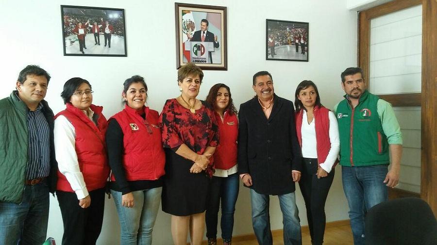 REFRENDA DIRIGENCIA ESTATAL DEL PRI APERTURA Y DIÁLOGO CON MILITANTES