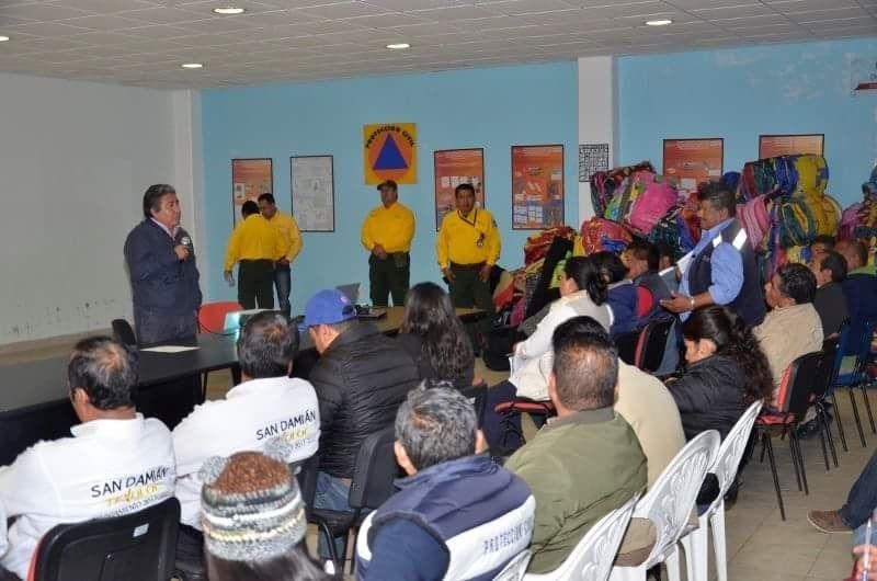 REFUERZA PROTECCIÓN CIVIL ESTATAL  ACCIONES POR TEMPORADA INVERNAL