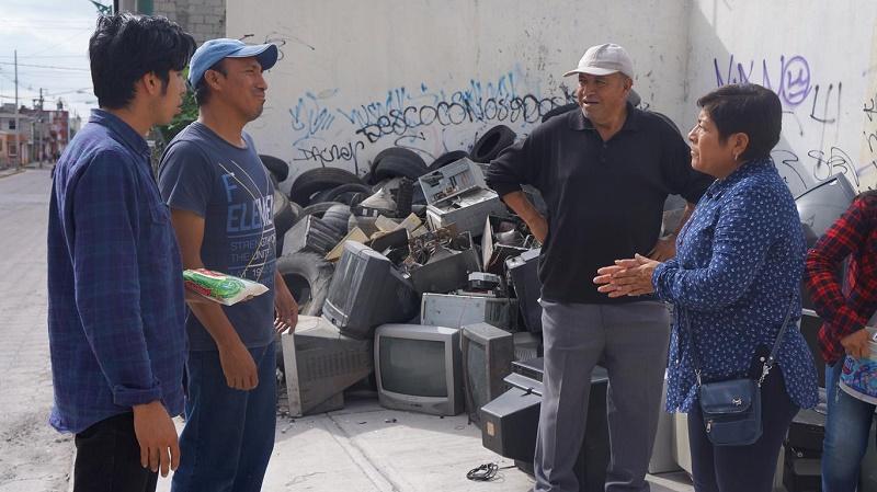 INICIA SEGUNDO RECICLATON EN SAN PABLO DEL MONTE