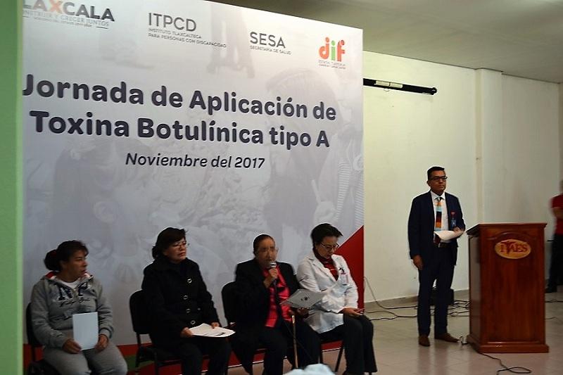 REALIZÓ ITPCD JORNADA DE APLICACIÓN DE TOXINA BOTULÍNICA A NIÑOS Y JÓVENES CON DISCAPACIDAD SEVERA