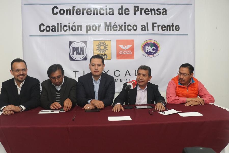 """SE SUMA EL  PAC A LA COALICIÓN """"POR MÉXICO AL FRENTE"""""""