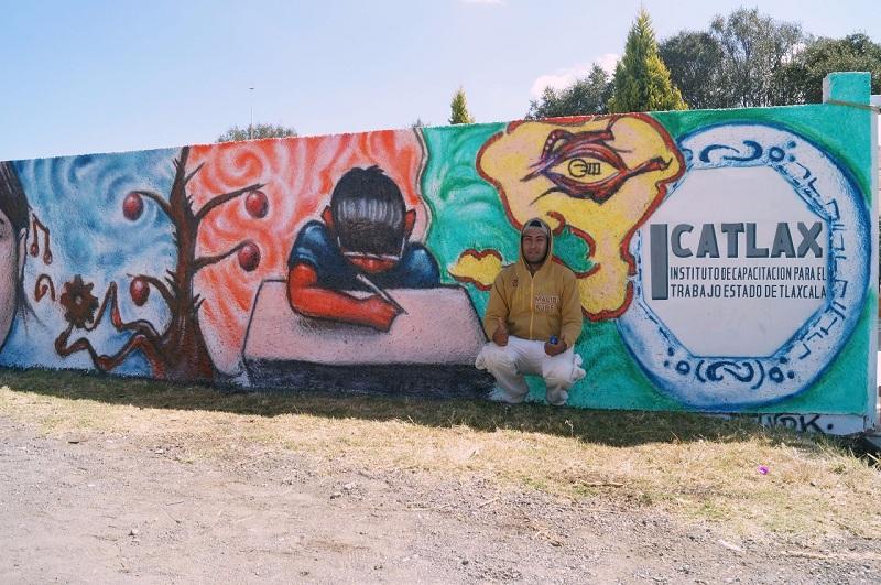 "REALIZA ICATLAX ""EXPO GRAFITI 2017"" EN SAN PABLO DEL MONTE"