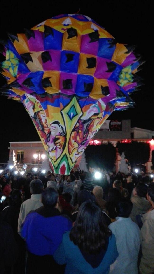 CON ÉXITO SE REALIZA LA VII EDICIÓN DEL FESTIVAL NACIONAL DE GLOBOS DE CANTOLLA EN PANOTLA