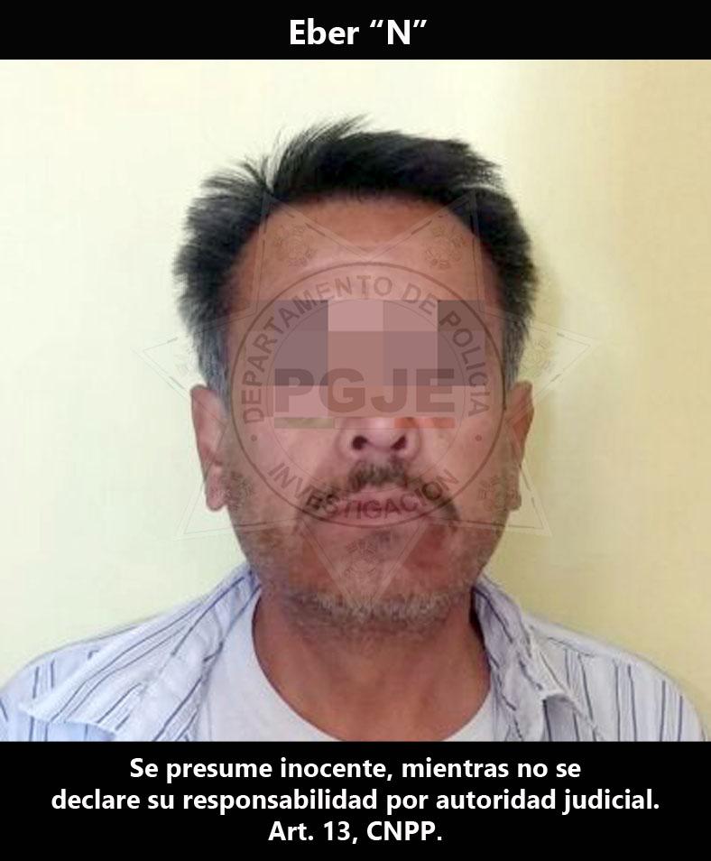 CAPTURA PGJE A IMPUTADO POR HOMICIDIO COMETIDO EN CHIAUTEMPAN