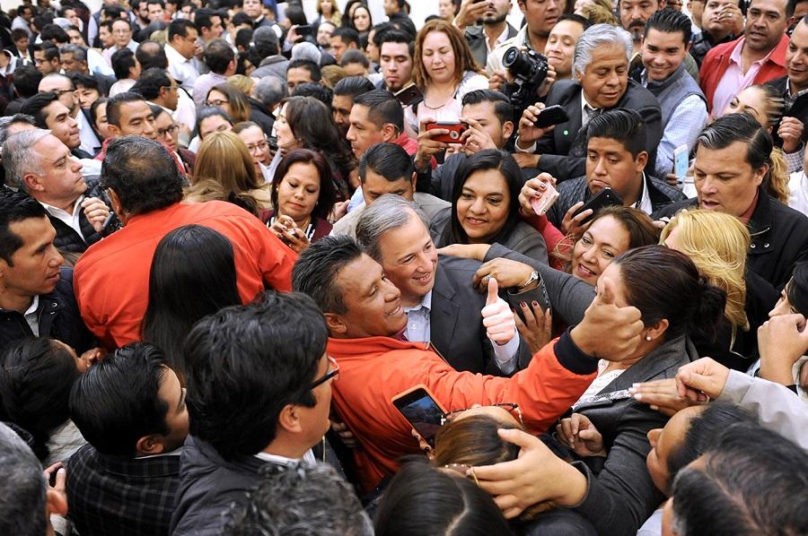 IMPENSABLE DESAPARECER EL SEGURO POPULAR: MEADE KURIBREÑA